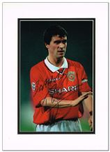 Roy Keane Autograph Photo - Manchester United